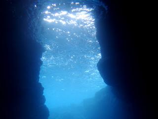 青の洞窟シュノーケリング③