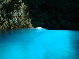 青の洞窟体験ダイビング①