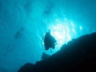 青の洞窟体験ダイビング④