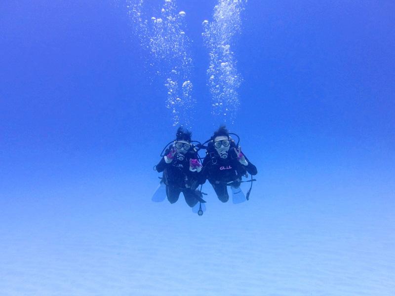 海洋実習2ダイブ